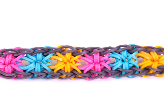 tuto bracelet rainbow loom fleur bracelets elastique. Black Bedroom Furniture Sets. Home Design Ideas